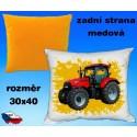 Polštářek Zemědělství traktor 40