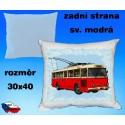Polštářek trolejbus Škoda TR