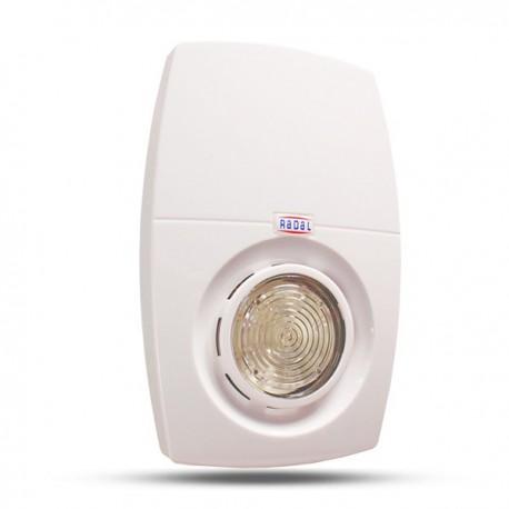Rádiový, opticko hlasový signalizátor CSA-FSU / R