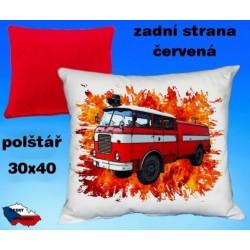 Polštářek Hasiči CAS-25 Škoda 706 RTHP