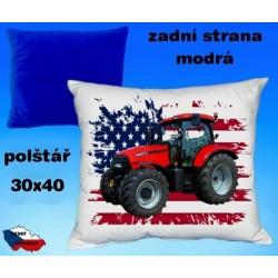 Polštářek Zemědělství traktor 42