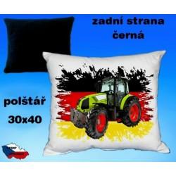 Polštářek Zemědělství traktor 43