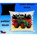 Polštářek Zemědělství traktor 45