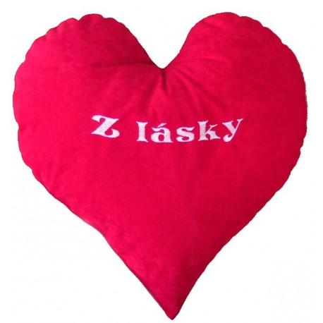 Polštářek srdce z lásky - 2
