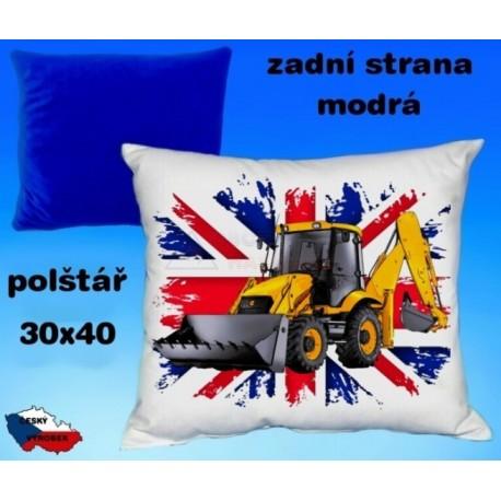 Polštářek Zemědělství traktor 46