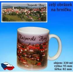 Foto hrneček Kašperské hory