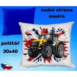 Polštářek Zemědělství traktor 47