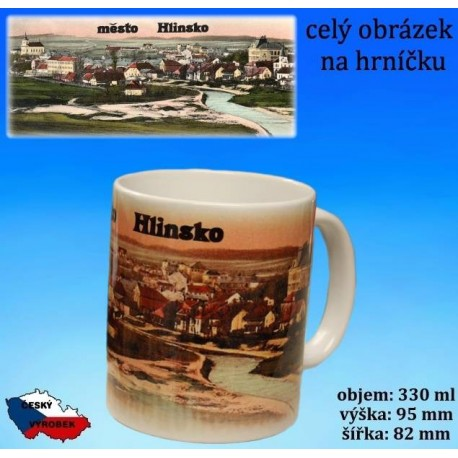 Foto hrneček Hlinsko