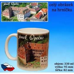Foto hrneček Opočno zámek