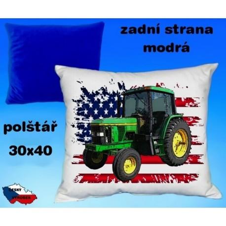 Polštářek Zemědělství traktor 49