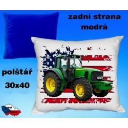 Polštářek Zemědělství traktor 50