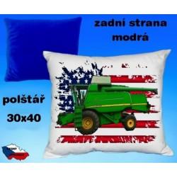 Polštářek Zemědělství kombajn 51