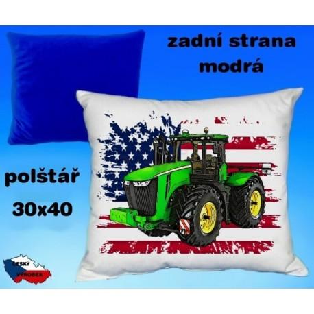 Polštářek Zemědělství traktor 52