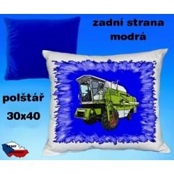 Polštářek Zemědělství kombajn 54