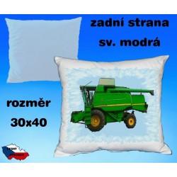 Polštářek Zemědělství kombajn 55