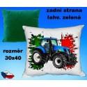 Polštářek Zemědělství traktor 58