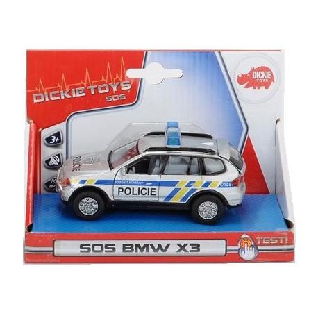 Autíčko Policie kovové
