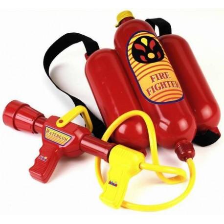 Dětský hasicí přístroj na záda