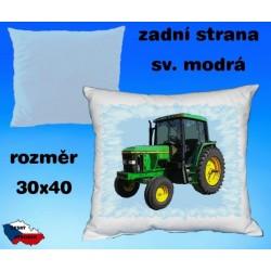 Polštářek Zemědělství traktor 60