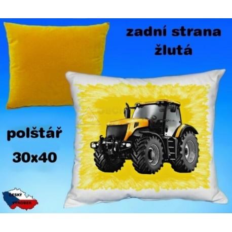 Polštářek Zemědělství traktor 62
