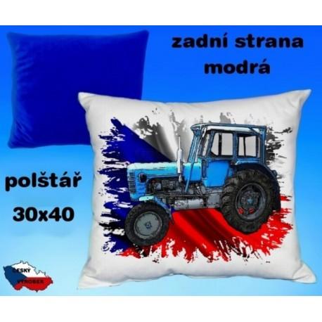 Polštářek Zemědělství traktor 64