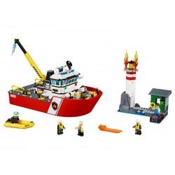 Lego City Hasičský člun