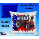 Polštářek Zemědělství traktor 66