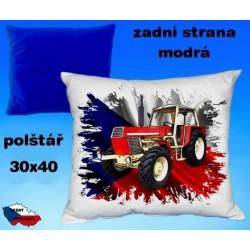 Polštářek Zemědělství traktor 68