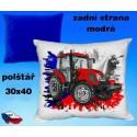 Polštářek Zemědělství traktor 70