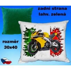 Polštářek motocykl 71