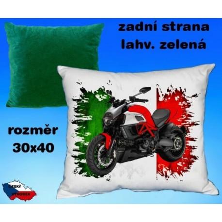 Polštářek motocykl 72