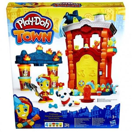 Play Doh Town požární stanice