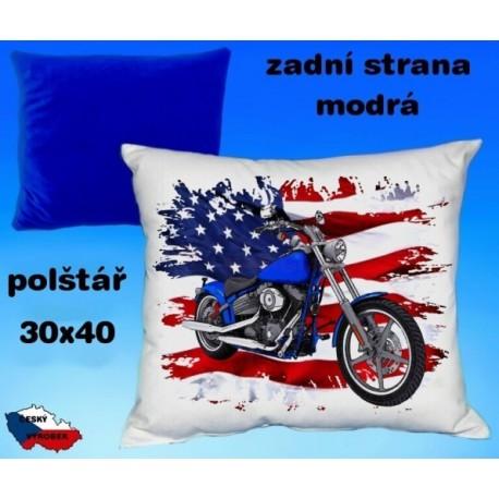 Polštářek motocykl 74