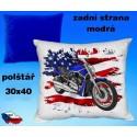 Polštářek motocykl 75