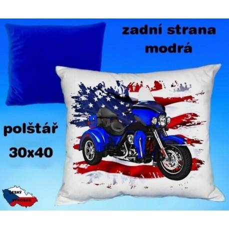 Polštářek motocykl 76