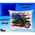Polštářek motocykl 78