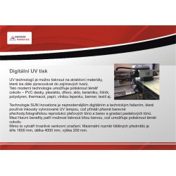 Digitální UV tisk