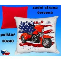 Polštářek motocykl 79