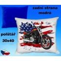 Polštářek motocykl 81