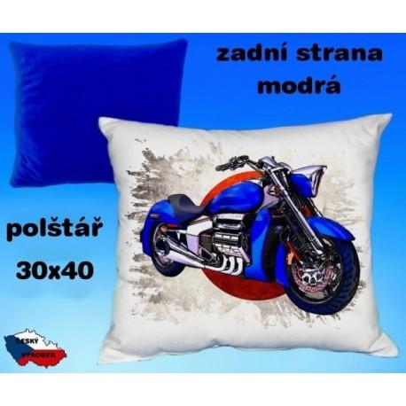 Polštářek motocykl 82