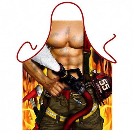Zástěra grilovací hasič