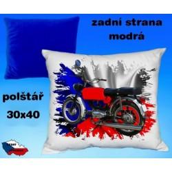 Polštářek motocykl 83