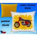 Polštářek motocykl 84