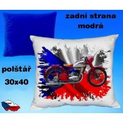 Polštářek motocykl 87