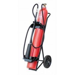 Pojízdný hasicí přístroj CO2