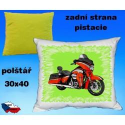 Polštářek motocykl 92