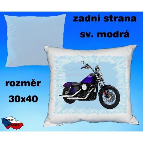 Polštářek motocykl 93