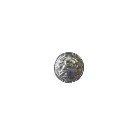Knoflík SDH 15mm zapichovací stříbrný