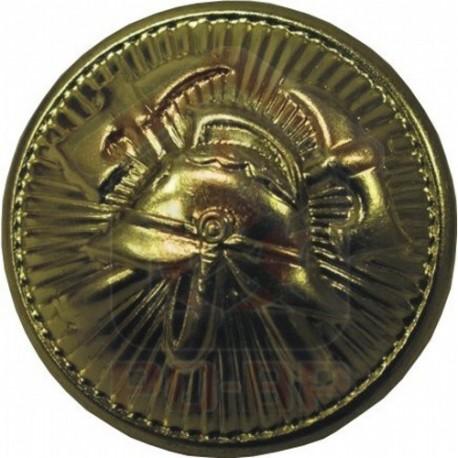 Knoflík SDH 15mm zapichovací zlatý