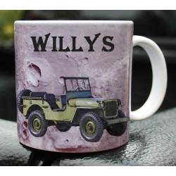 Hrneček armáda Jeep Willys MB